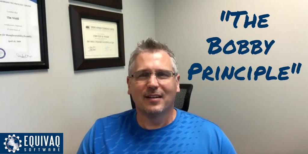 The Bobby Principle equivaQ PDM